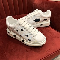 Alexander McQueen 2021 Woman's Men's 2020 New Fashion Casual Shoes Sneaker Sport Running Shoes0524mp