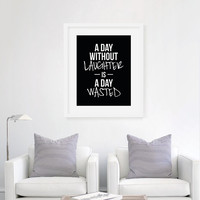 Without Laughter - Art Print