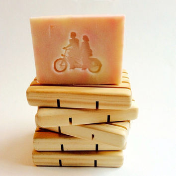 Best Bar Soap BLONDIE/5 oz. Luxe Designer Bar Soap/Genevieve & Theodore Logo/Soapie Shoppe Haywood Mall