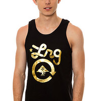 LRG Tank Top Core Collection in Black and Gold