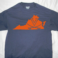 University of Virginia State Design Unisex T-shirt