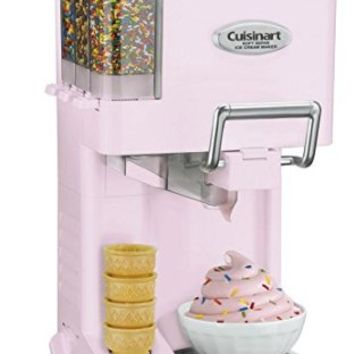 Cuisinart Ice Cream Maker 1.5-qt. Mix It In Soft Serve Ice Cream Maker - Homemade Ice Cream Maker for Kids - Makes Quality Ice Cream, Yogurt & Sorbet in 20 Minutes - Easy Cleaning