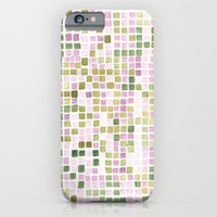 #38. JULIA - Squares iPhone & iPod Case by Sylvieceres