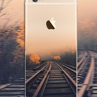 Rail Case TPU Cover for iphone 7 7 Plus & iphone 6 6s Plus & iphone se 5s + Gift Box