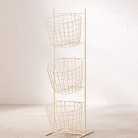 Sabrina Basket Tower Storage | Urban Outfitters