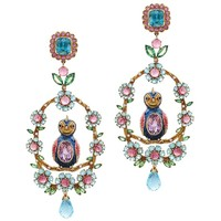 Matina Amanita Maharani Love Bird Earrings