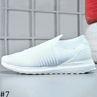 ADIDAS ULTRA BOOST LACELESS casual running shoes for men and women F-A-FJGJXMY #7
