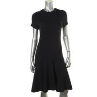 Polo Ralph Lauren Womens Ribbed Drop Waist Sweaterdress