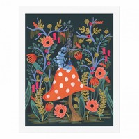 Absolem the Caterpillar Art Print by RIFLE PAPER Co.   Made in USA