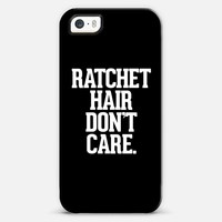Ratchet Hair Don't Care iPhone 5s case by Rex Lambo | Casetagram