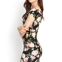 Soft Knit Floral Dress