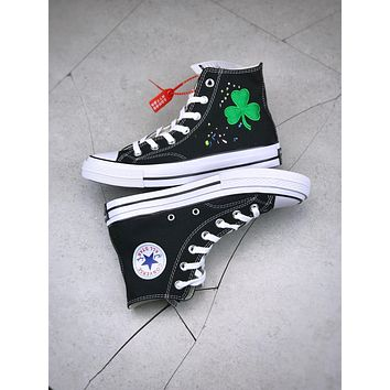 Converse All Star X Bandulu Chuck Taylor All Star Boston Celtics canvas Shoes Black