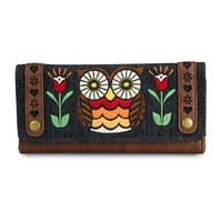 Loungefly Red/Orange/Yellow Owl Wallet - Loungefly - Brands