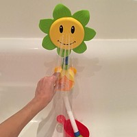 Baby Bath Toys Children Sunflower Shower Faucet Bath Toy Gift Kids Toy Bath with Box Kid Toys