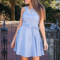 Darling Desires Dress, Chambray