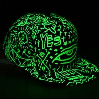 Fashion fluorescence hat