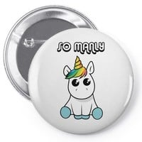so manly Pin-back button