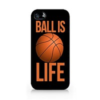 Ball Is Life - Basketball Is Life - iPhone 4/4S Black Case (C) Andre Gift Shop