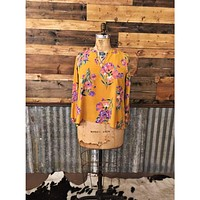 Lovely Lilacs Floral Top