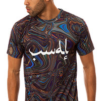 Vandal Collective OIL SWIRL TOP