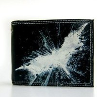 Dark Night Rises Movie Logo Mens Bifold Wallet