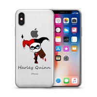 Harley Quinn Jelly Clear Case for Apple Iphone X (10)