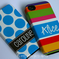 Personalized iPhone Case - 5 VIBE Case or 4/4s TOUGH Case - Choose Your Design