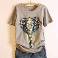 Elephant Print Tee from MostImpact