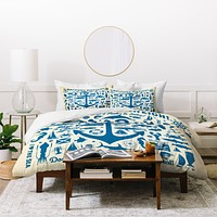 Anderson Design Group Anchors Aweigh Duvet Cover