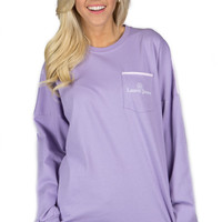 Lauren James Beachcomber Top - Lavender