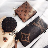 LV Louis Vuitton Trio Pouch Mahjong Bag Three-piece Set