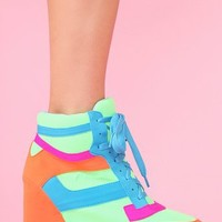 Napoles Wedge Sneaker in What's New at Nasty Gal