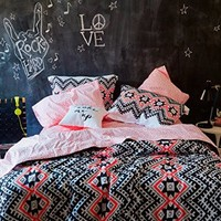 Aeropostale Women's Aztec Bed In A Bag Set