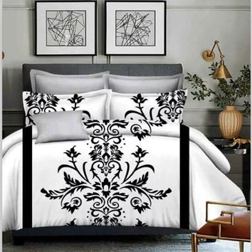 Bohemia 3PCS3d duvet and bedding sets Sham Boho European style cover set bedsheet us bed queen king size Cotton Bed set
