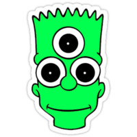 Bart the Alien - The Simpsons
