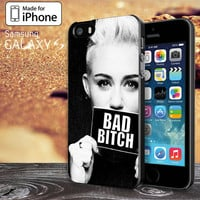 Miley Cyrus Bad Bitch for iPhone 4 / 4s / 5 / 5s / 5c, Samsung Galaxy S3, S4, S5 Case