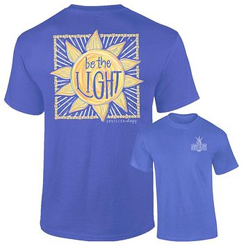 Southernology Be the Light Sun Comfort Colors T-Shirt