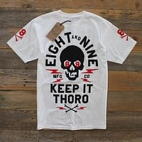 Keep It Thoro T Shirt Fire Red