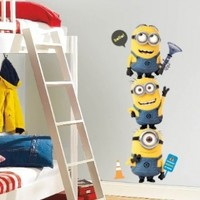 Roommates Rmk2081Gm Despicable Me 2 Minions Giant Peel And Stick Giant Wall Decals