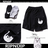 Unisex  Shorts Lord Nermal Ripndip Couple Shorts _ 10231