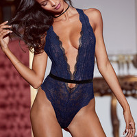 Strappy Plunge Teddy - Dream Angels Wicked - Victoria's Secret