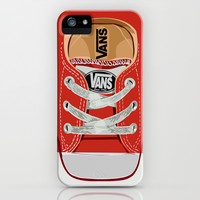 Cute red Vans all star baby shoes apple iPhone 4 4s, 5 5s 5c, iPod & samsung galaxy s4 case