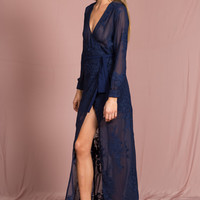 She's All That Wrap Dress – NAVY