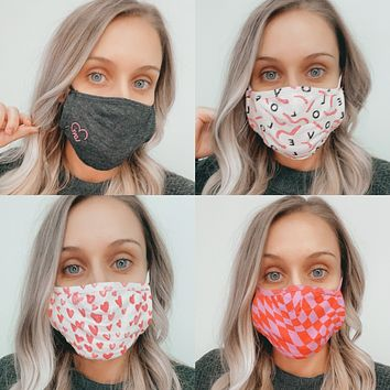 Z Supply Love In The Air Masks
