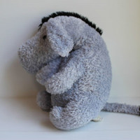 EEYORE Stuffed Animal CLASSIC POOH by Disney PLUSH Cartoon Character GIFT TOY