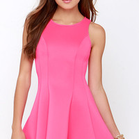 Call Me Maybe Hot Pink Dress