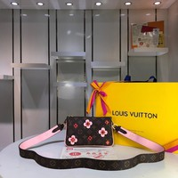 Kuyou Lv Louis Vuitton Fashion Women Men Gb29611 M63905 Monogram Small Leather Goods All Collections Pochette Double Zip 20.5*3.5*12.5cm