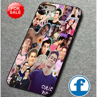 Teen Wolf - Dylan O'brien collage   for iphone, ipod, samsung galaxy, HTC and Nexus PHONE CASE