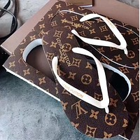 Louis Vuitton LV Flip-flop beach shoes (5 colors)
