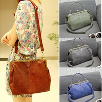 Women Lady Retro Shoulder Purse Handbag Cross Totes Bag [10198322055]